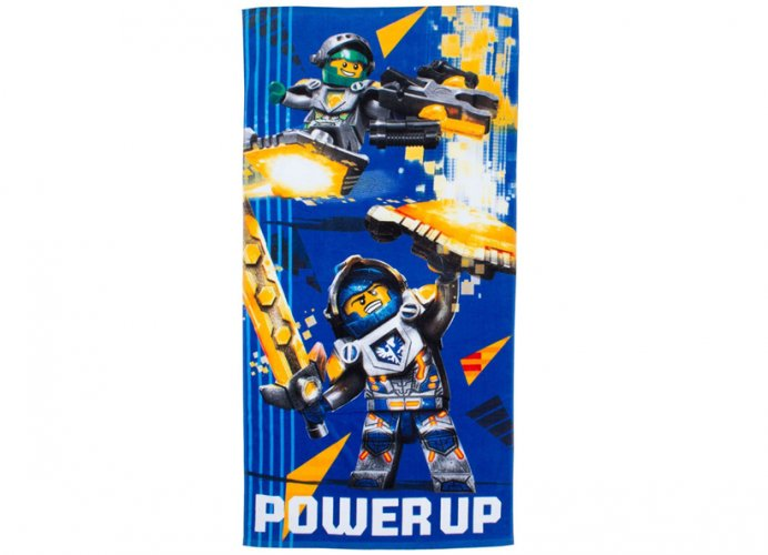 Prosop lego nexo knights albastru imagine