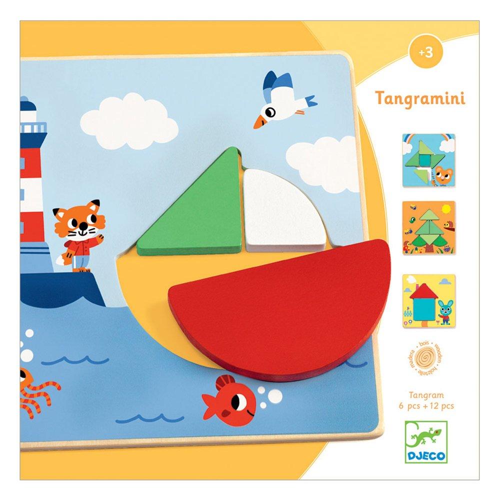 Joc educativ tangramini djeco