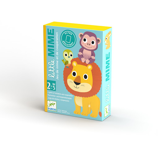 Joc de carti toddler little mime djeco - 2