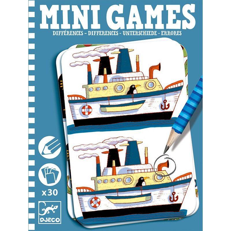 Mini games gaseste diferentele djeco