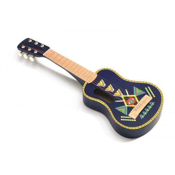 Chitara pentru copii colorata djeco imagine