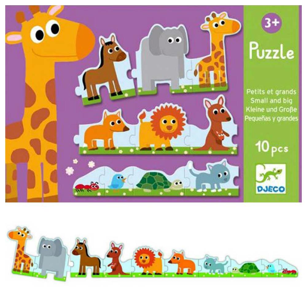 Puzzle duo de la mic la mare djeco