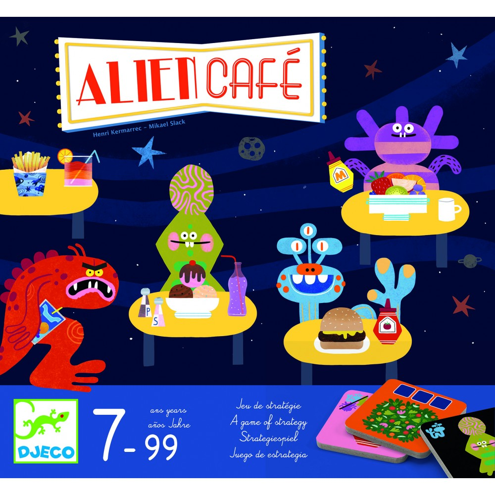 Joc de strategie alien cafe djeco