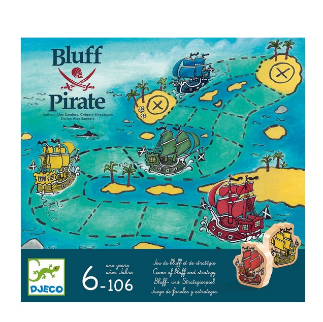 Joc de strategie bluff pirati djeco