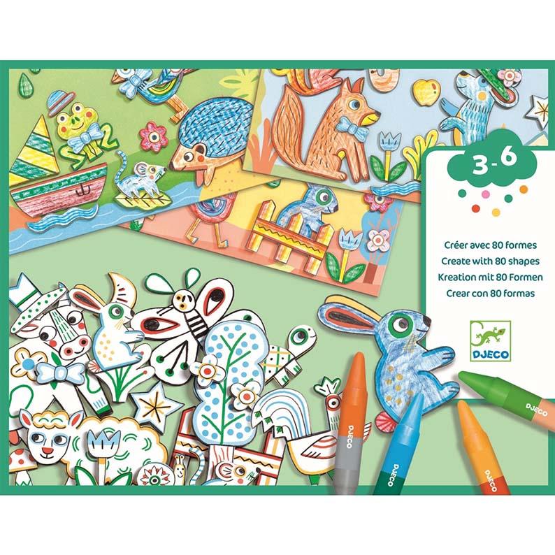 Planse de desen animale djeco imagine