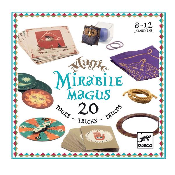 Colectia magica mirable magus 20 de trucuri de magie djeco