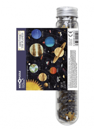 Micro puzzle cu planete 150 piese londji