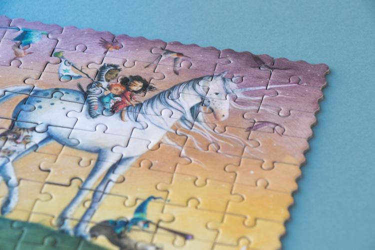 Micro puzzle unicorn londji - 1