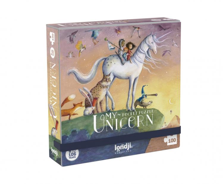 Micro puzzle unicorn londji