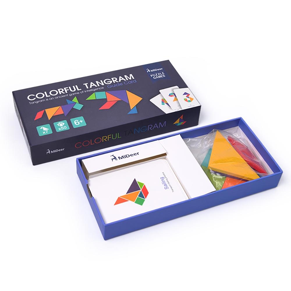 Joc tangram colorat mideer - 5