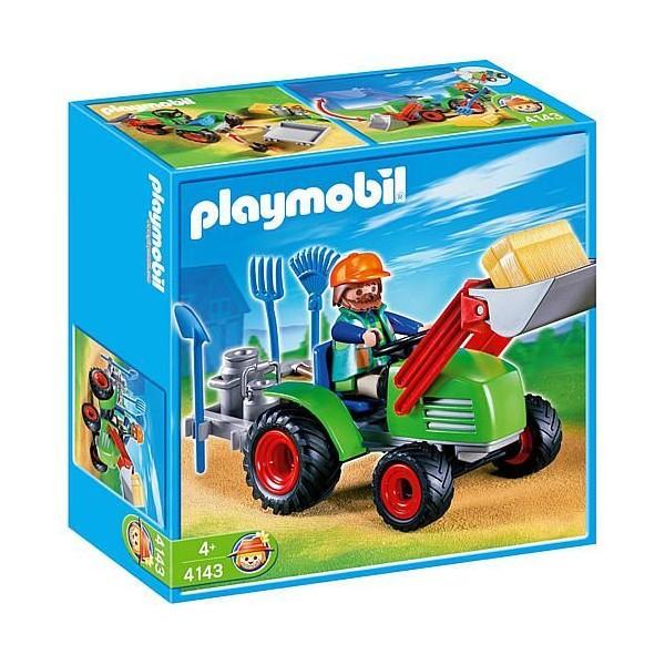 Tractorul fermierului playmobil country