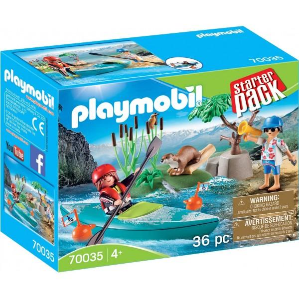 Aventura cu caiac playmobil family fun