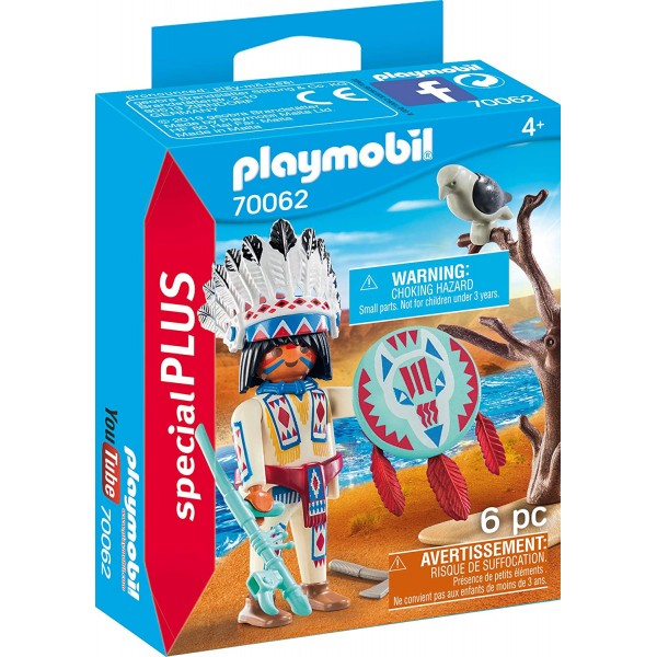 Figurina indian playmobil