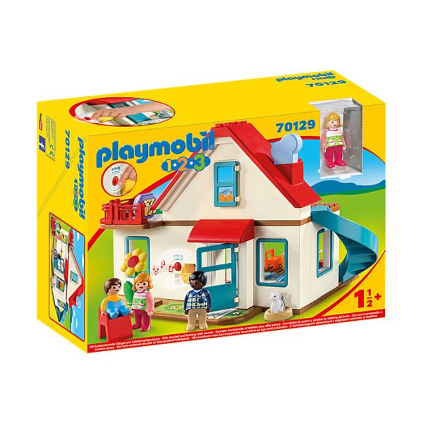 Casa familiei playmobil 1.2.3