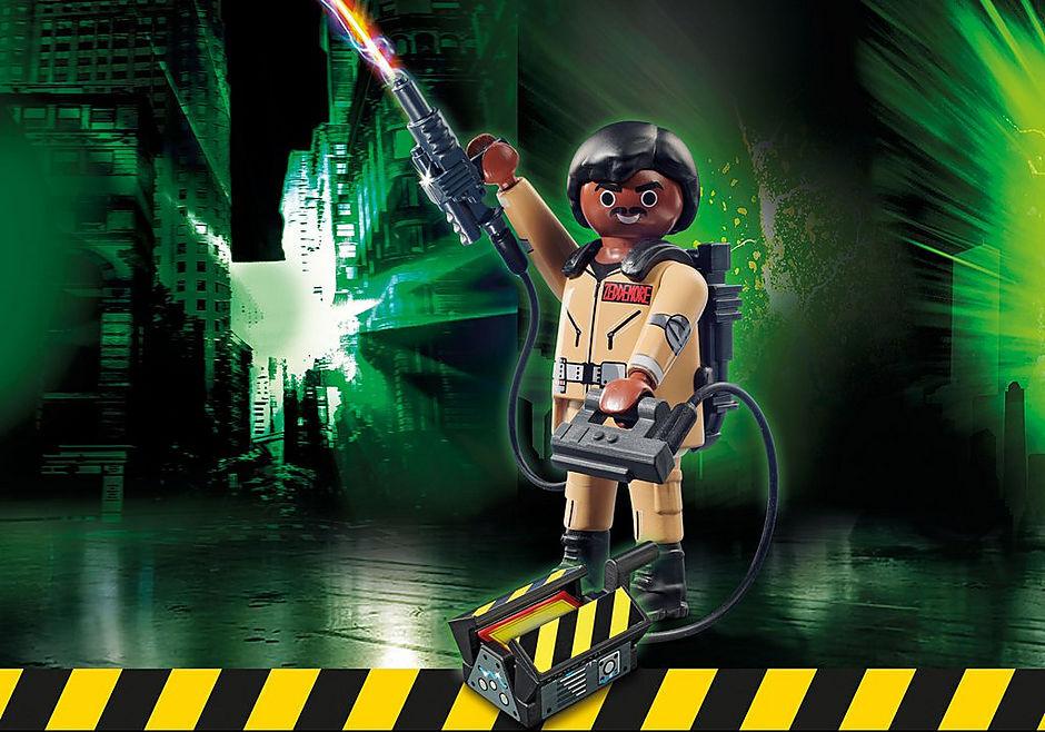 Zeddmore figurina de colectie playmobil ghostbusters - 1