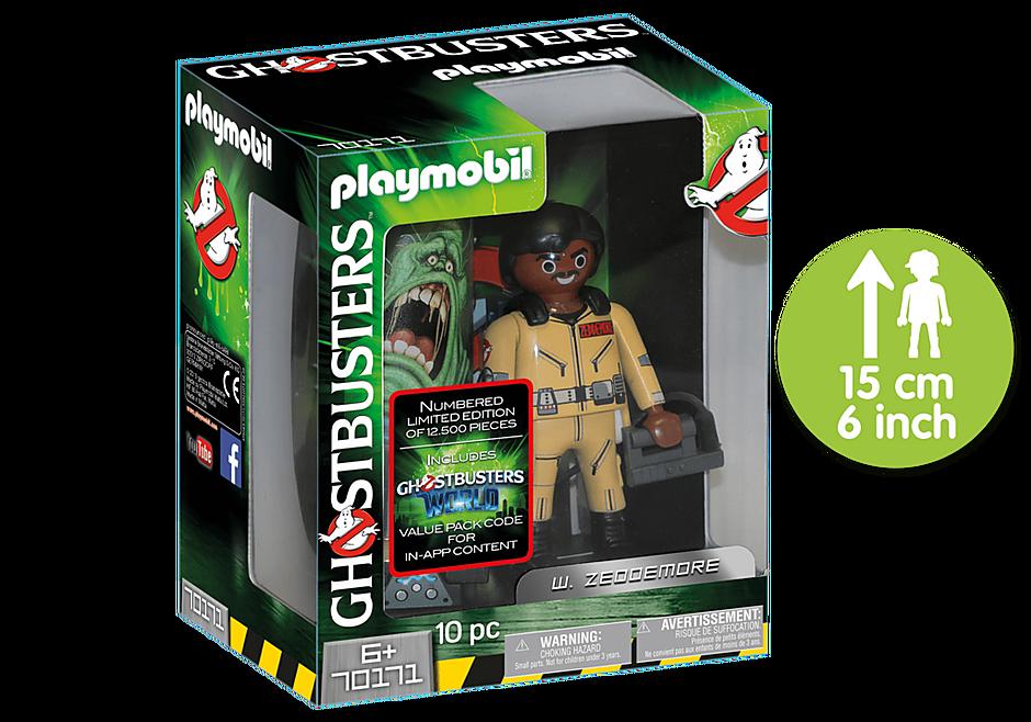 Zeddmore figurina de colectie playmobil ghostbusters