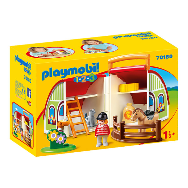 Set mobil ferma playmobil 1.2.3