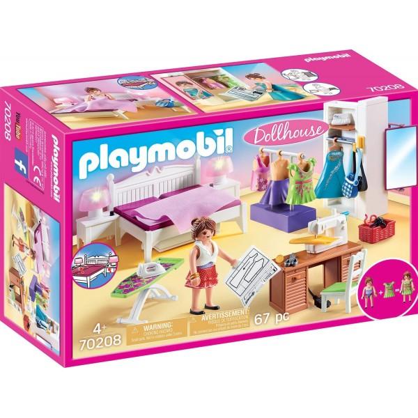 Dormitorul familiei playmobil doll house