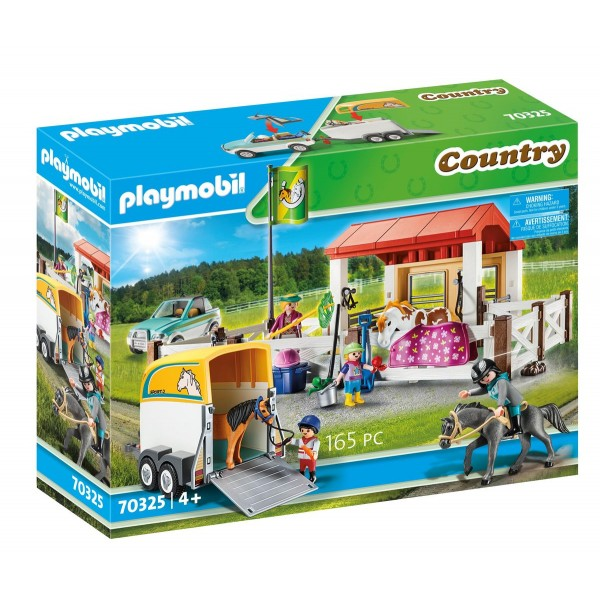 Ferma calutilor club set playmobil country