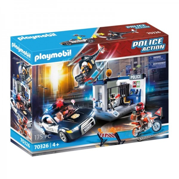 Club set politie playmobil city action