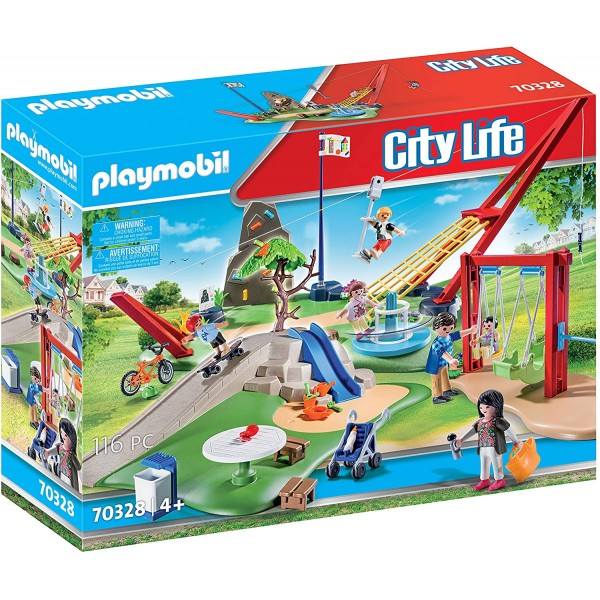 Loc de joaca club set playmobil city life