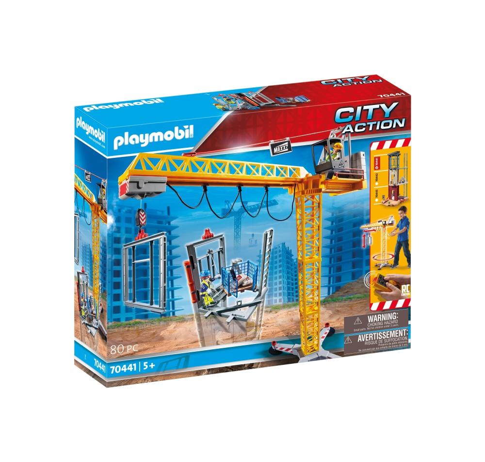 Macara cu telecomanda playmobil city action
