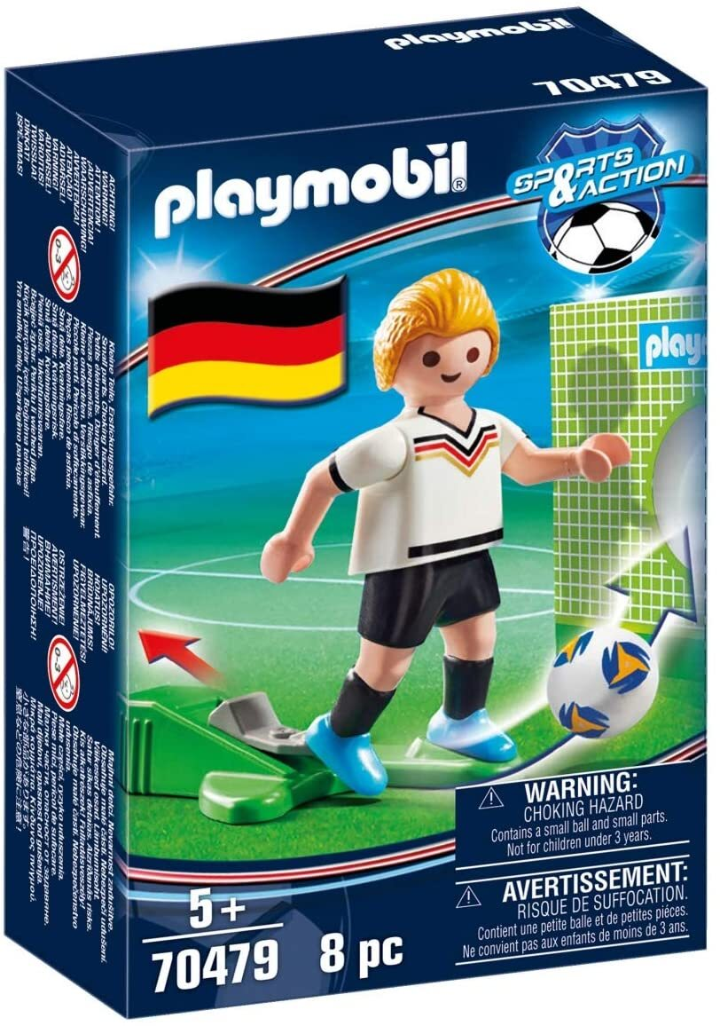Jucator fotbal germania playmobil sports action