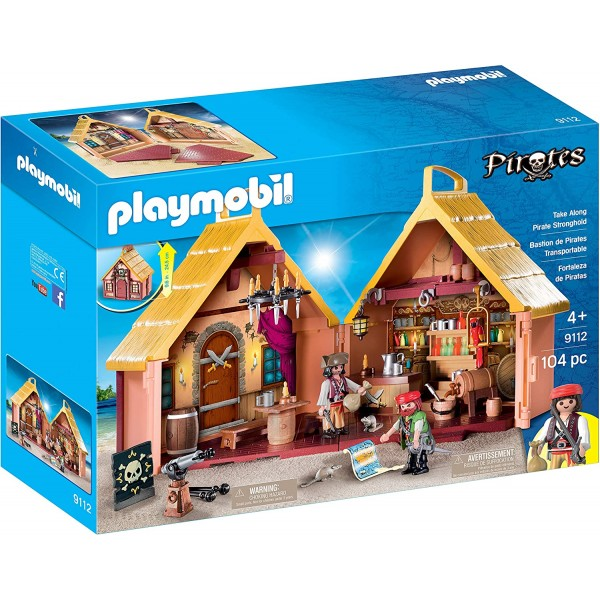 Set mobil fortareata piratilor playmobil pirates