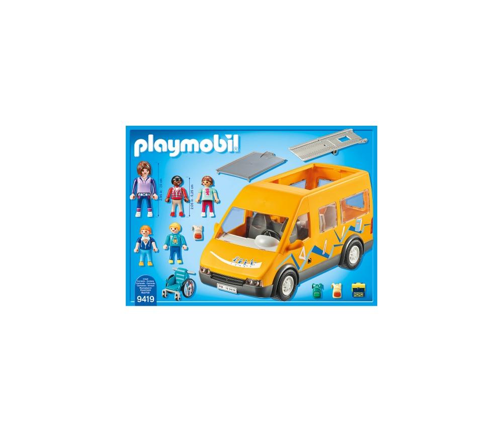Masina scolara playmobil city life - 1
