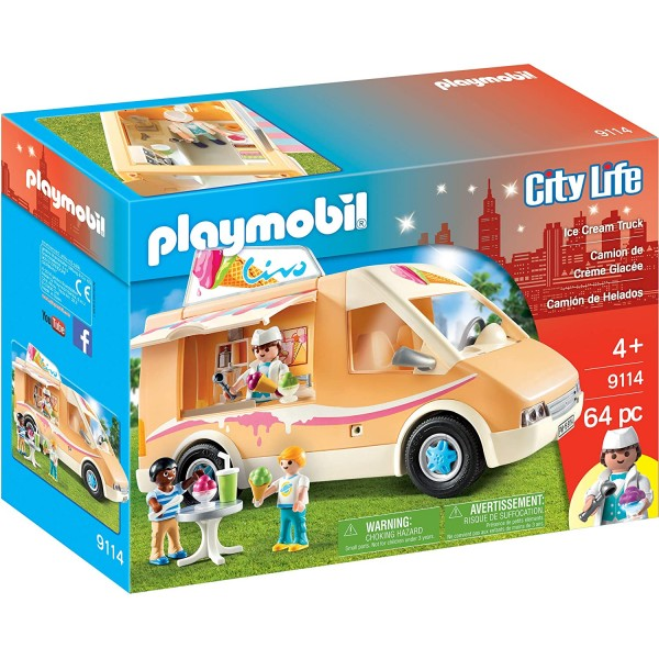 Camionul cu inghetata playmobil city life