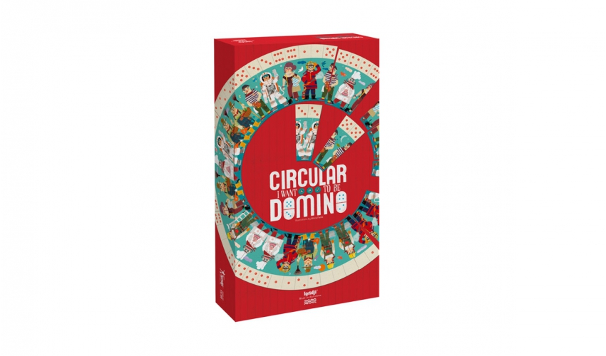 Joc domino circular londji