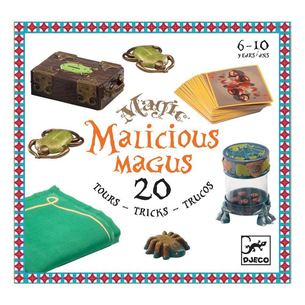 Colectia magica malicious magus 20 de trucuri de magie djeco