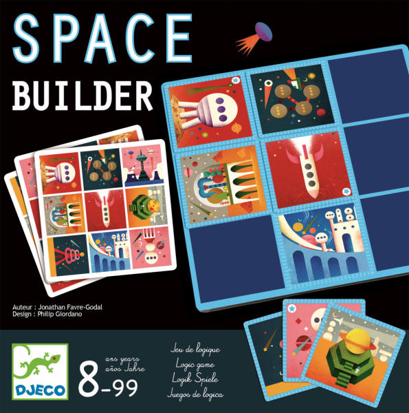 Joc de logica space builder djeco