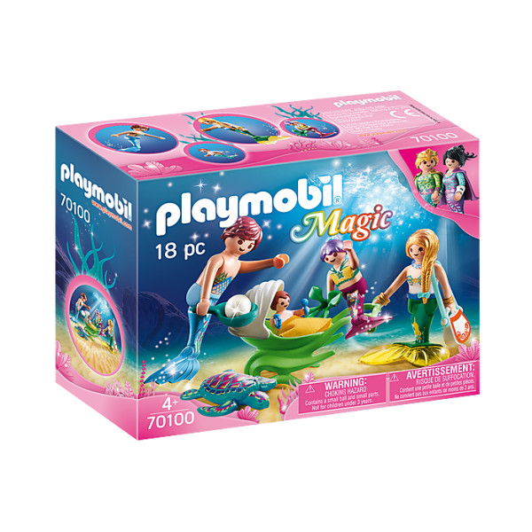 Familie de sirene playmobil magic