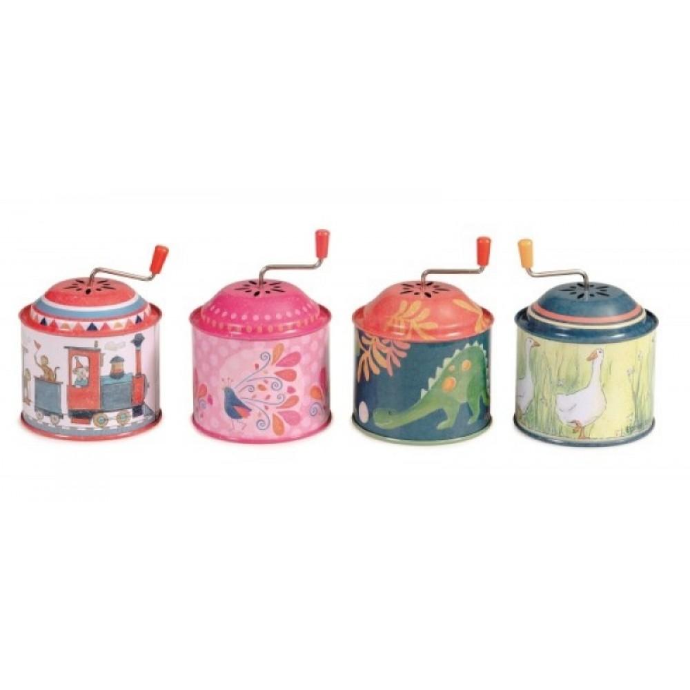 Flasneta metalica colorata egmont toys imagine