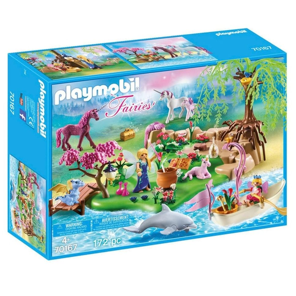 Insula zanelor playmobil fairies