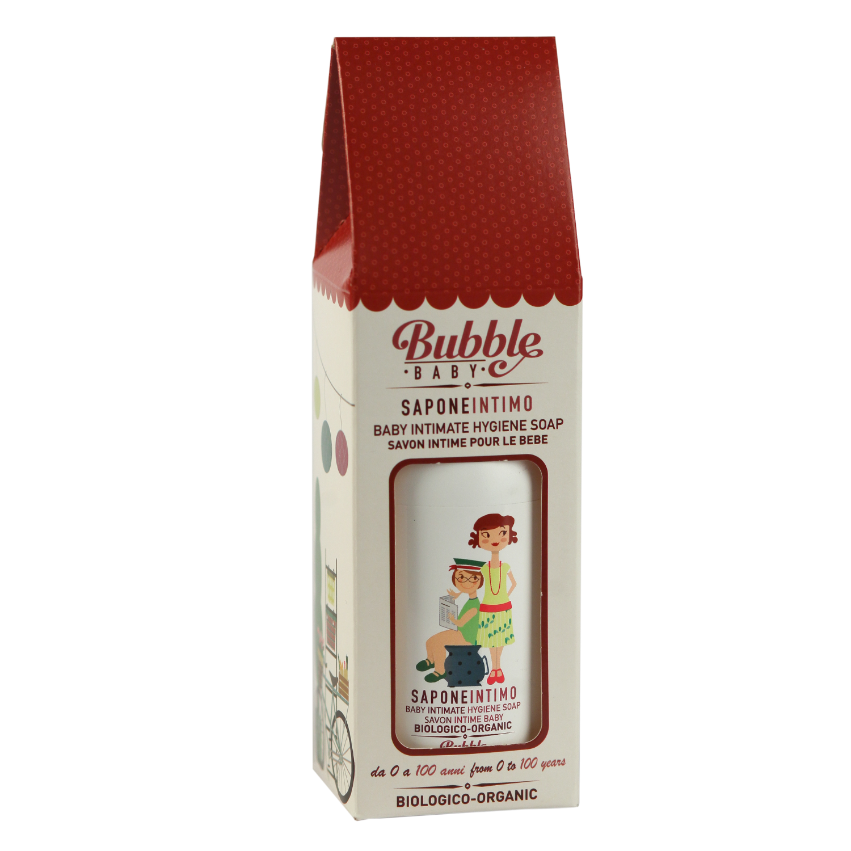 Sapun organic igiena intima bebelusi si copii 250ml bubbleeco imagine