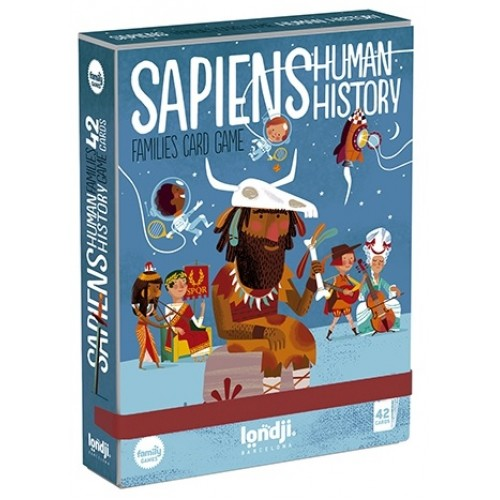 Joc de carti istoria omenirii sapiens londji