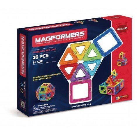 Set constructie magnetic magformes 26 piese cics toys imagine