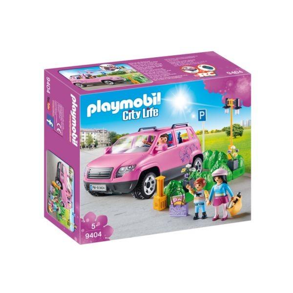Masina de familie cu loc de parcare playmobil city life