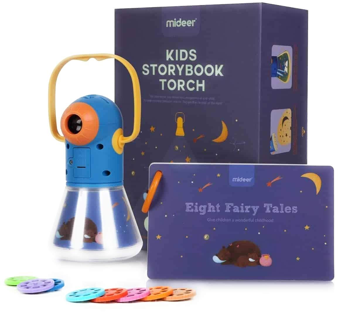 Proiector de povesti cu lumina de noapte mideer imagine