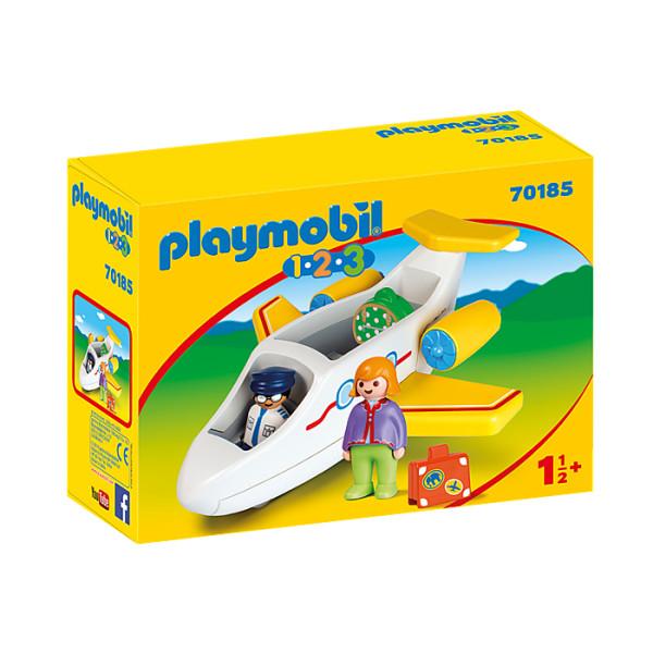 Avion cu pasager playmobil 1.2.3