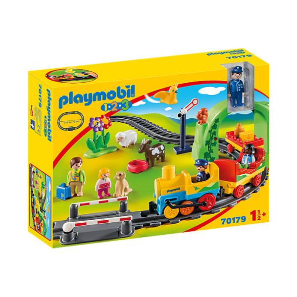 Statie de tren playmobil 1.2.3