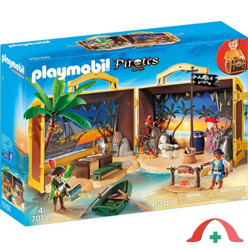 Set mobil insula aurie playmobil pirates