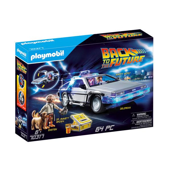 Inapoi in viitor delorean playmobil