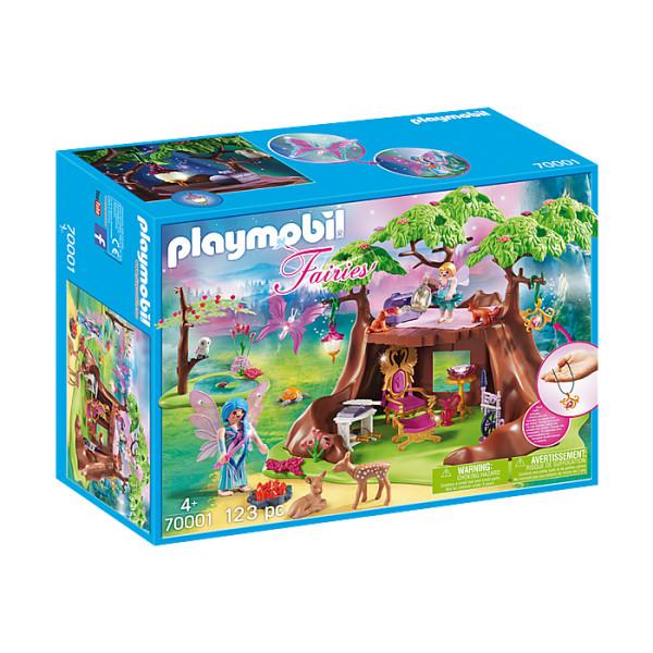 Casa zanelor din padure playmobil fairies
