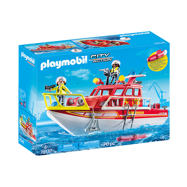 Barca de salvare playmobil city action
