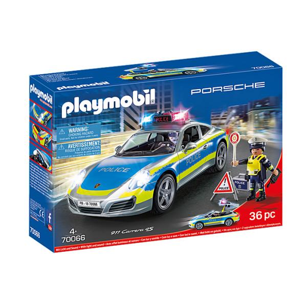 Porche 911 carrera 4s politie playmobil
