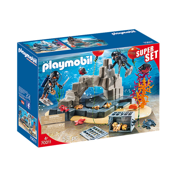 Echipa swat playmobil super set