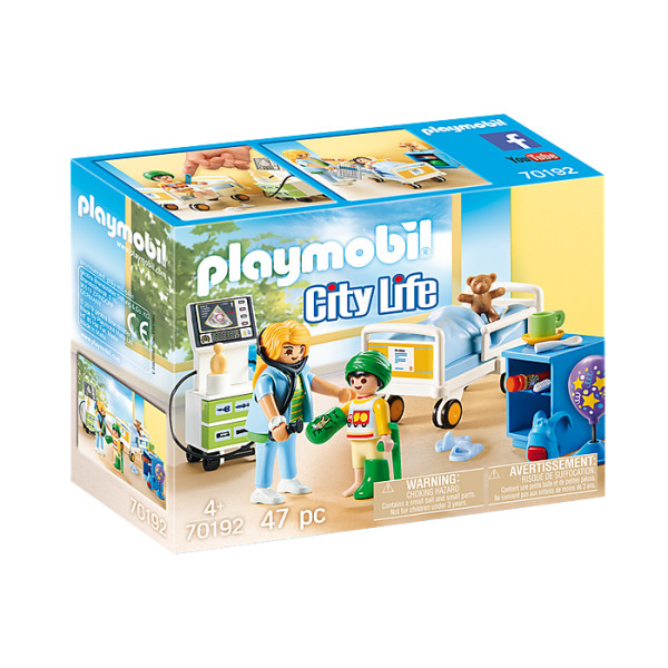 Camera copiilor din spital playmobil city life